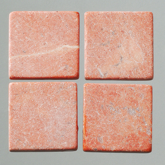 MosaixPur-Echtstein rot 20 x 20 x 4 mm 200 g ~ 45 Stck.