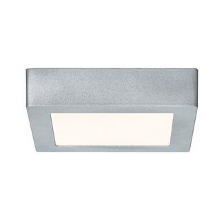 WallCeiling Lunar LED-Panel 12W 230V Chrom matt Alu